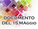 DOCUMENTO 15 MAGGIO